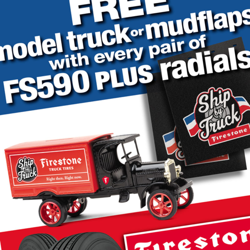 FIrestone Mudflap & Model Promotion